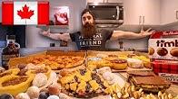 ULTIMATE CANADIAN JUNK FOOD BANQUET CHALLENGE | Toronto Pt.4
