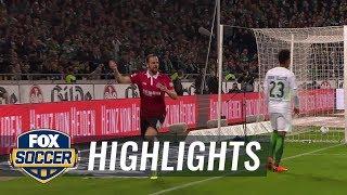 Hannover 96 vs. Werder Bremen | 2017-18 Bundesliga Highlights