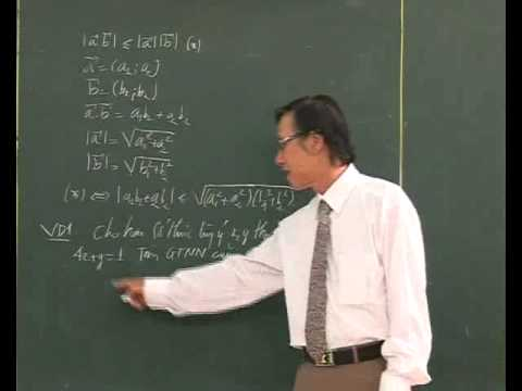 Bài Bất đẳng thức Cauchy-Schwarz (P1) - Thầy Nguyễn Anh Trường