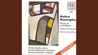 Pictures at an Exhibition - Orchestra Version: Promenade: Allegro giusto, nel modo russico,...