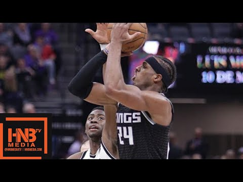 Brooklyn Nets vs Sacramento Kings Full Game Highlights / March 1 / 2017-18 NBA Season
