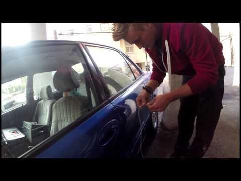 איך לפרוץ אוטו עם חוט בלבד ?