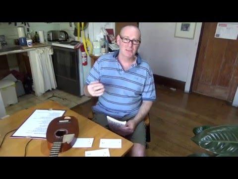 beginners\' Ukulele lesson # 3 Chocolate Jesus by tom waits - YouTube