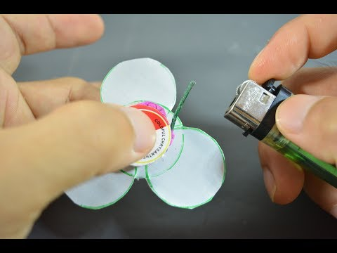 extreame  DIY fidget spinner, berani coba?