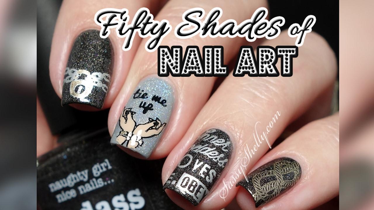 Badass fifty shades nail art sexy stamping with bundle monster badass fifty shades nail art sexy stamping with bundle monster prinsesfo Image collections