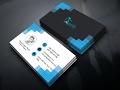 Clean Modern Business Card Design — Photoshop Tutorial