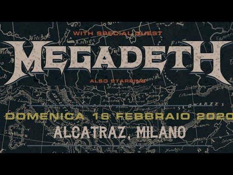 MEGADETH - Alcatraz, Milan, Italy, 16 feb 2020 - full gig