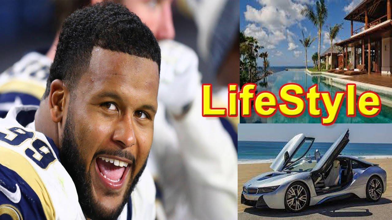 Aaron Donald Lifestyle School Girlfriend House Car Net Worth Salary Family Biography 2018 Youtube
