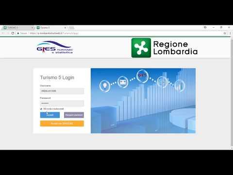 Turismo 5, il nuovo applicativo online di gestione dei dati turistici. Webinar 1