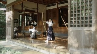 ONE SHOT. ONE LIFE at Enma Dojo in Engakuji Zen Temple