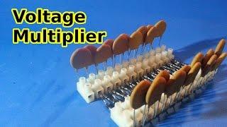 Villard Cascade Voltage Multiplier - Theory and Example