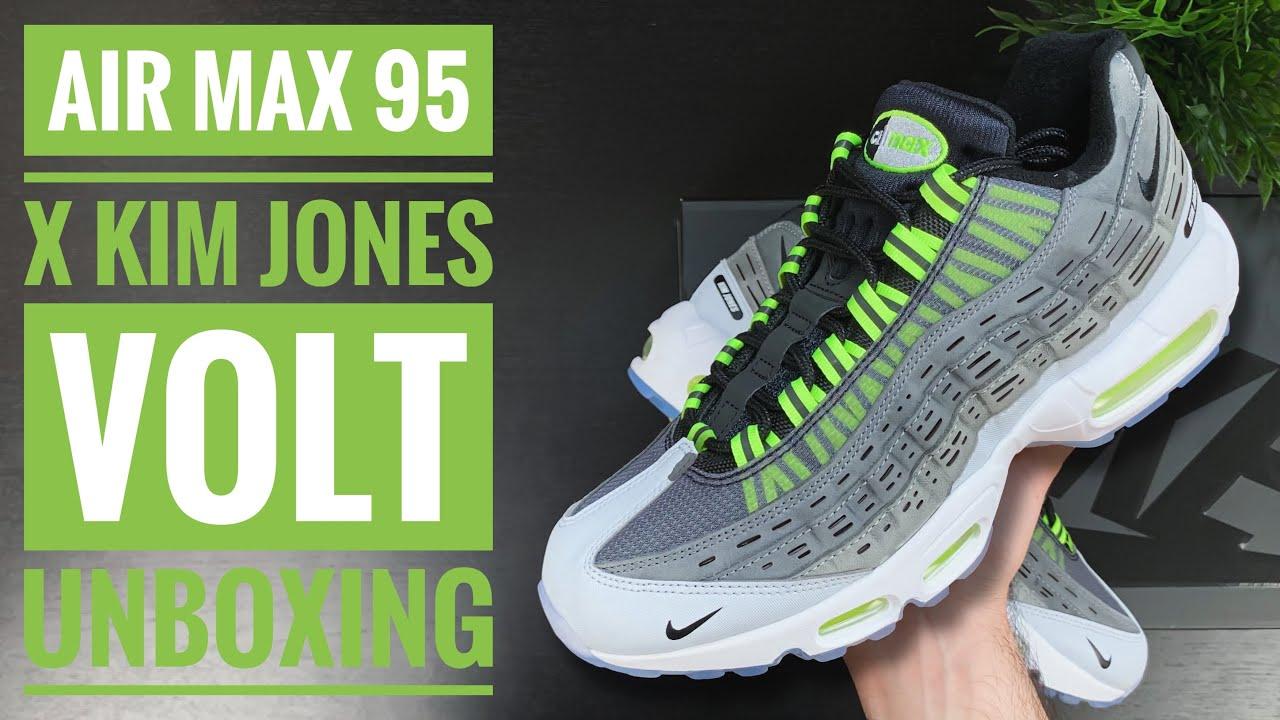 Nike Air Max 95 x Kim Jones 'Volt' | Unboxing | 4K | Sneaker Therapy