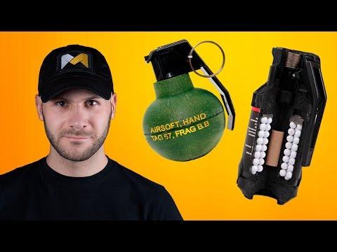 СТРАЙКБОЛЬНАЯ АКАДЕМИЯ. Страйкбольные гранаты и мины // Airsoft grenades and mines