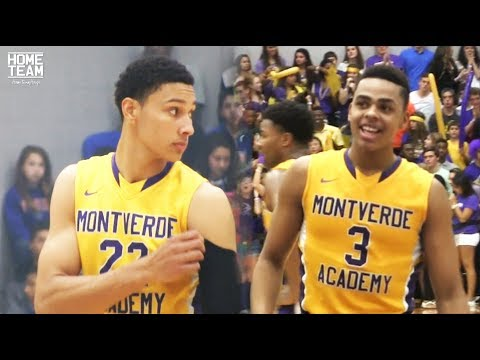 Ben Simmons and D Lo playing at Montverde together
