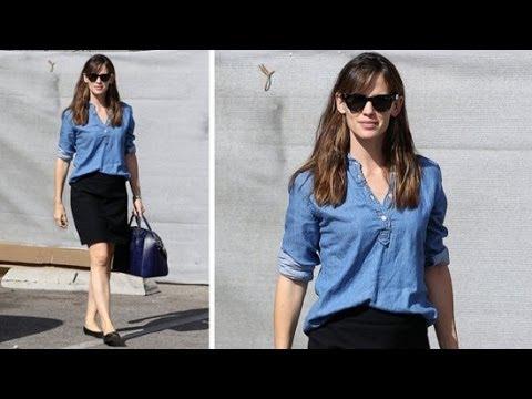 Copy Jennifer Garner\u0027s Easy Outfit For Work