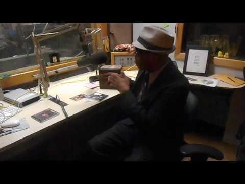 O.G. MACK Doing radio promotion with BROTHER WAYNE.