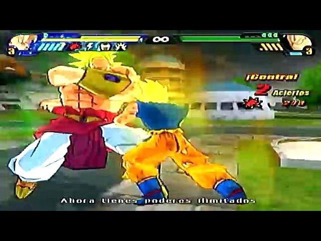 Dragon Ball Z Budokai Tenkaichi 3 Version Latino Modo Historia *Broly vs Guerreros Z* parte 2 Videos De Viajes