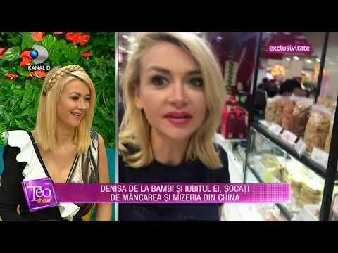 Teo Show (26.04.2018) -  Denisa de la Bambi vacanta de cosmar in China! Partea 4