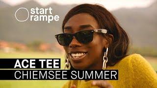 Ace Tee mit Kwam.e und Fridl beim Chiemsee Summer (Startrampe)