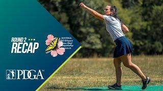 2019 United States Women's Disc Golf Championship: Round 2 Recap