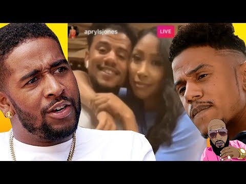 Apryl Jones CONFIRMED Baby With Lil Fizz & Omarion PUT HANDS ON HIM!