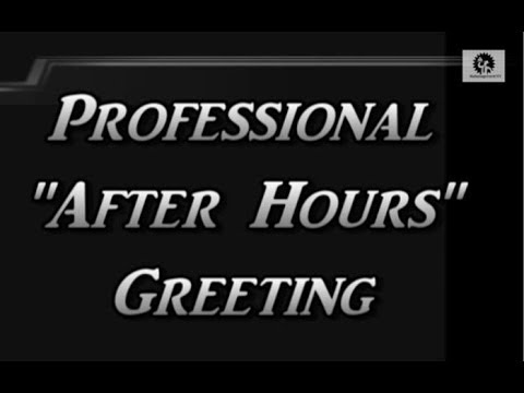 Professional after hours virtual business office greeting voicemail professional after hours virtual business office greeting voicemail management m4hsunfo