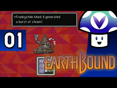[Vinesauce] Vinny - Earthbound (part 1) + Art!