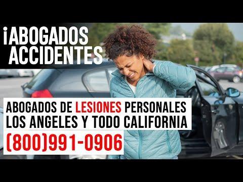 Abogados de Accidentes y Lesiones Personales en Los Angeles y todo California