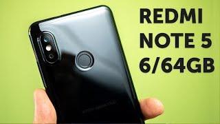 Xiaomi Redmi Note 5 Pro 6GB 64GB распаковка китайской версии (Redmi Note 5 6/64GB Black Unboxing)