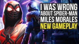I Was Wrong About Spider Man Miles Morales - New Gameplay Analysis (Spider Man PS5 - Spiderman PS5)