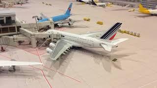 JFK 1:400 model airport 9:30pm-10:00pm operations update