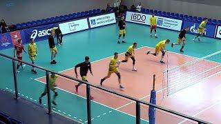 Волейбол обучение. Упражнение на тренировку скоростных качеств игрока