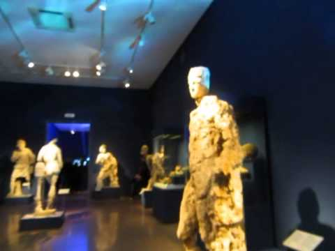 video clip - treasures found in a greek shipwreck - archaeological museum - athens sidneysealine