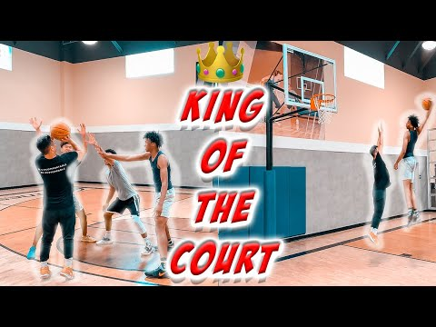 1v3 KING OF THE COURT AGAINST RANDOM PEOPLE AT 24 HOUR FITNESS!