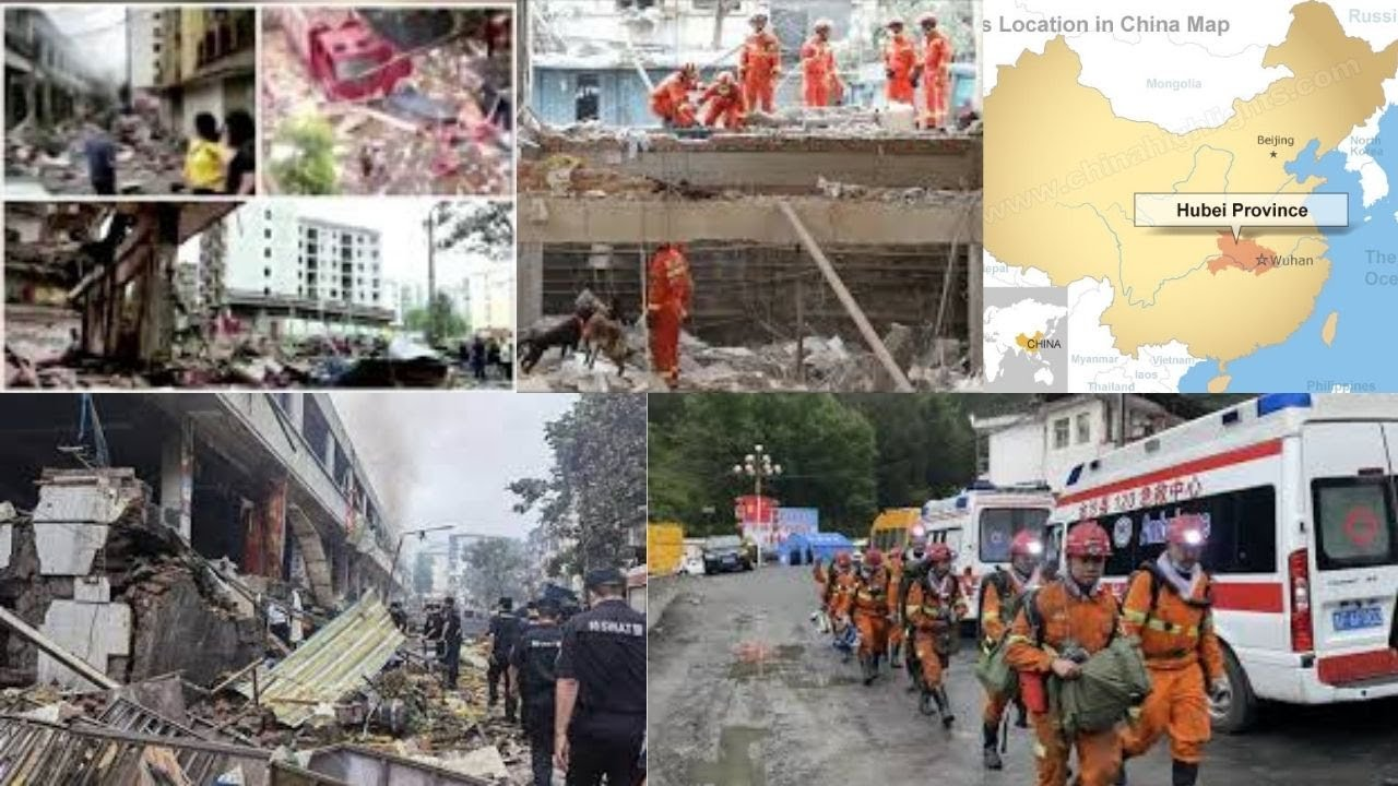 12 killed, 138 injured in gas explosion in China's Hubei province