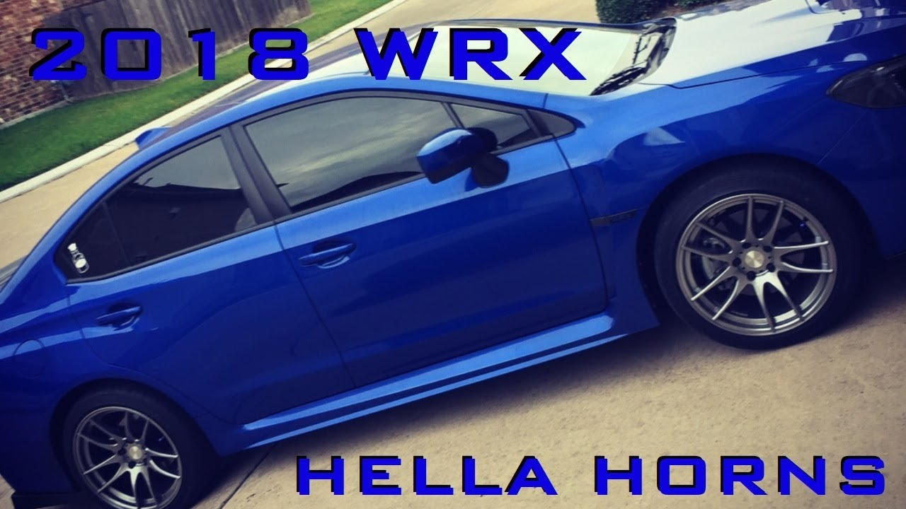 hight resolution of 2018 wrx hella horns install subimods harness 2015 2017