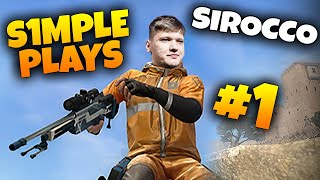 CS:GO - S1MPLE WINS ON SIROCCO! NEW BATTLE ROYALE MAP