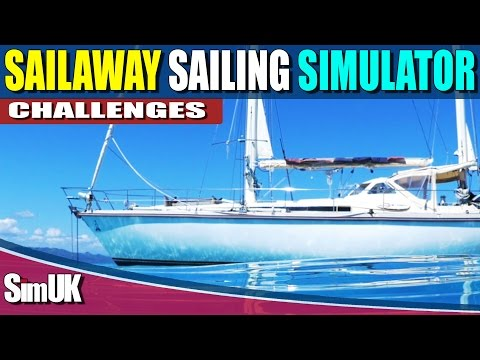 Sailaway the Sailing Simulator - (Challenge) Slalom to Ovalau