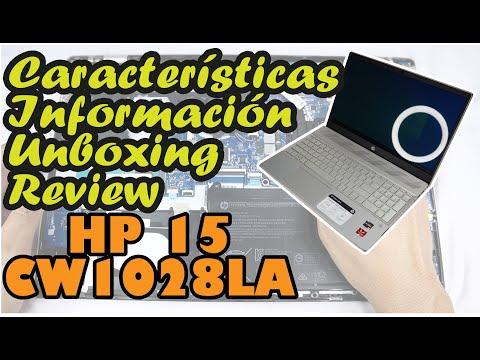 Laptop HP 15-CW1028LA l Unboxig | Review | Información | Características | Desarmar y armar