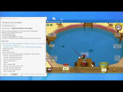 Tootown Rewritten Bot (Mouse Click Simulator) – Auto Fishing
