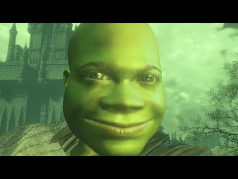 Shrek and Donkey dominate Dark Souls 3 PvP