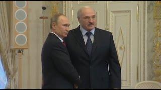 Беларусь расплатилась с Россией за газ