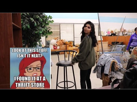 Come thrifting with me! Try on thrift haul! EP. 2