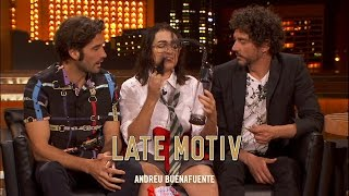 LATE MOTIV - El tupper sex de la niña con Paco Leon y Alex García  | #LateMotiv42