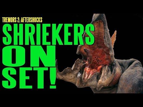 TREMORS 2 Shriekers On Set BTS ADI