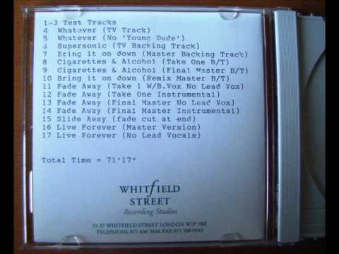Oasis - Cigarettes and Alcohol (Rare Mix)