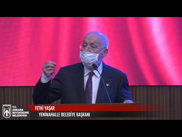 T.C.  Ankara Büyükşehir Belediyesi Olağanüstü Meclis Toplantısı