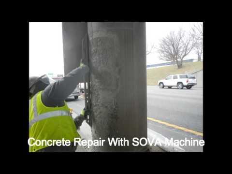 Concrete Repair REED SOVA Acme Equipment