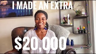 How I earned an extra $20,000 from side hustles