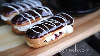 Էկլեր - Homemade Chocolate Eclairs Recipe - Heghineh Cooking Show in Armenian